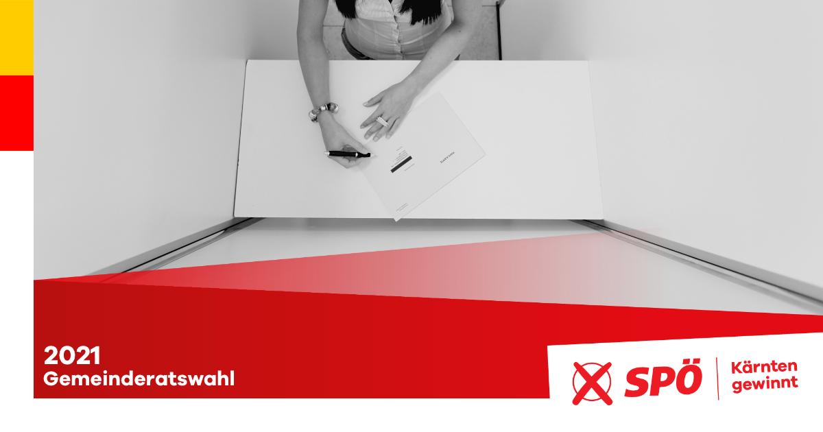 Gemeinderatswahl 2021 in Kärnten